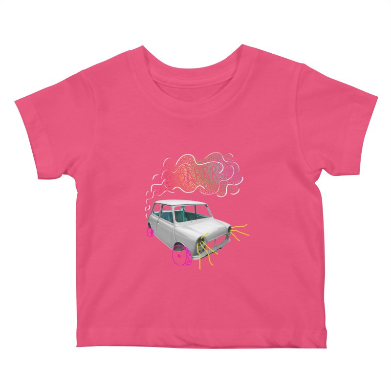 fast and furious Kids Baby T-Shirt by sustici's Artist Shop