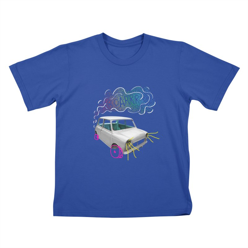 fast and furious Kids T-Shirt by sustici's Artist Shop