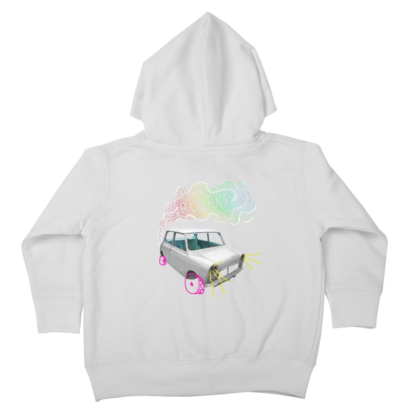 fast and furious Kids Toddler Zip-Up Hoody by sustici's Artist Shop
