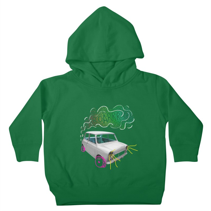 fast and furious Kids Toddler Pullover Hoody by sustici's Artist Shop