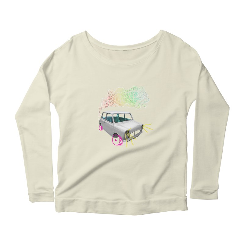 fast and furious Women's Longsleeve Scoopneck  by sustici's Artist Shop