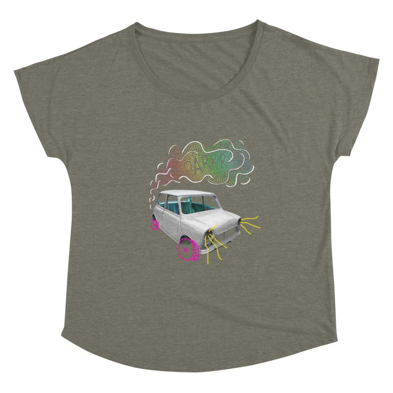 fast and furious Women's Scoop Neck by sustici's Artist Shop