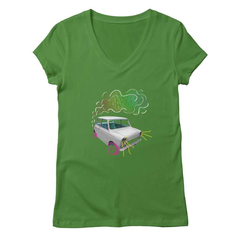 fast and furious Women's Regular V-Neck by sustici's Artist Shop