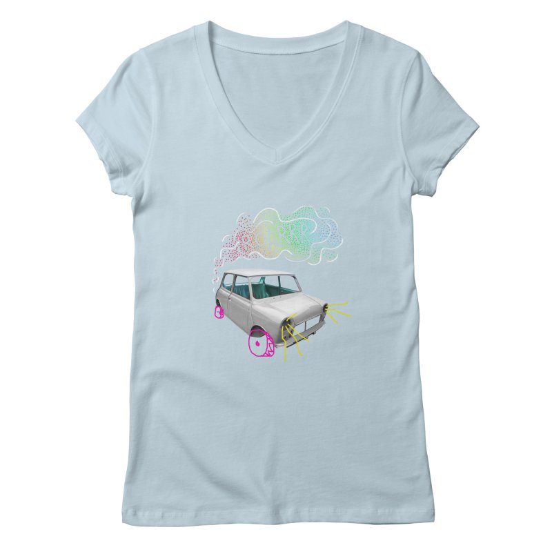 fast and furious Women's V-Neck by sustici's Artist Shop