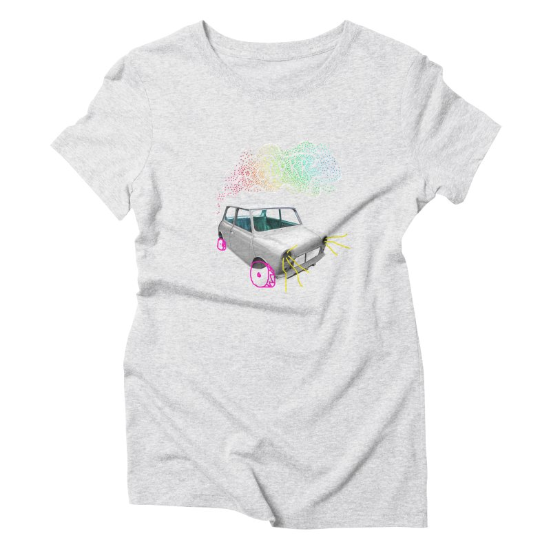 fast and furious Women's Triblend T-Shirt by sustici's Artist Shop