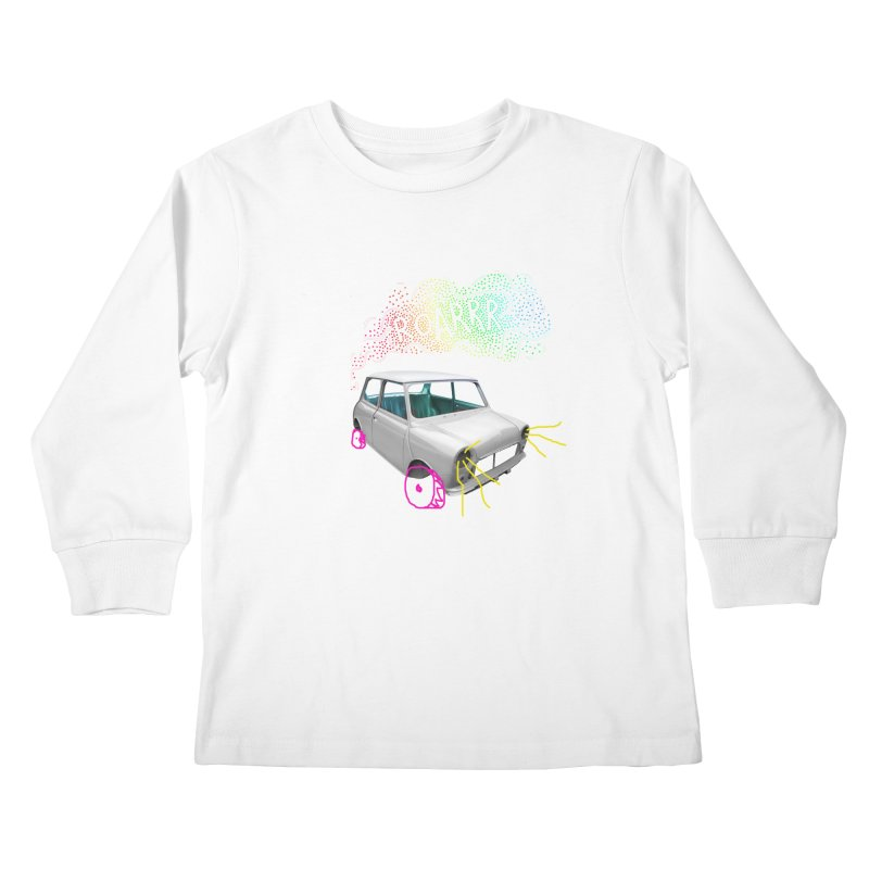 fast and furious Kids Longsleeve T-Shirt by sustici's Artist Shop
