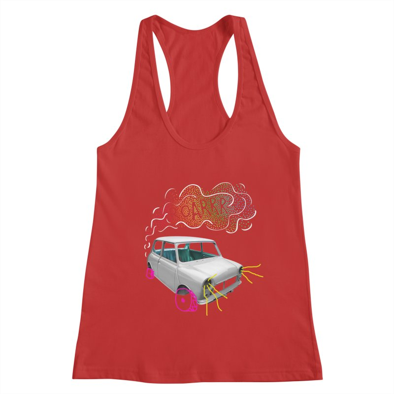 fast and furious Women's Racerback Tank by sustici's Artist Shop