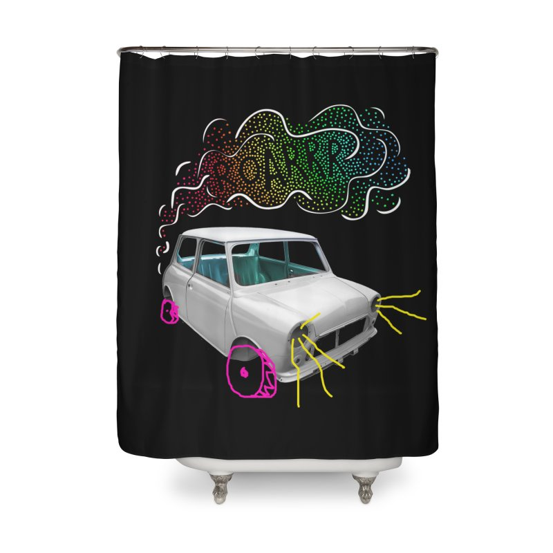 fast and furious Home Shower Curtain by sustici's Artist Shop