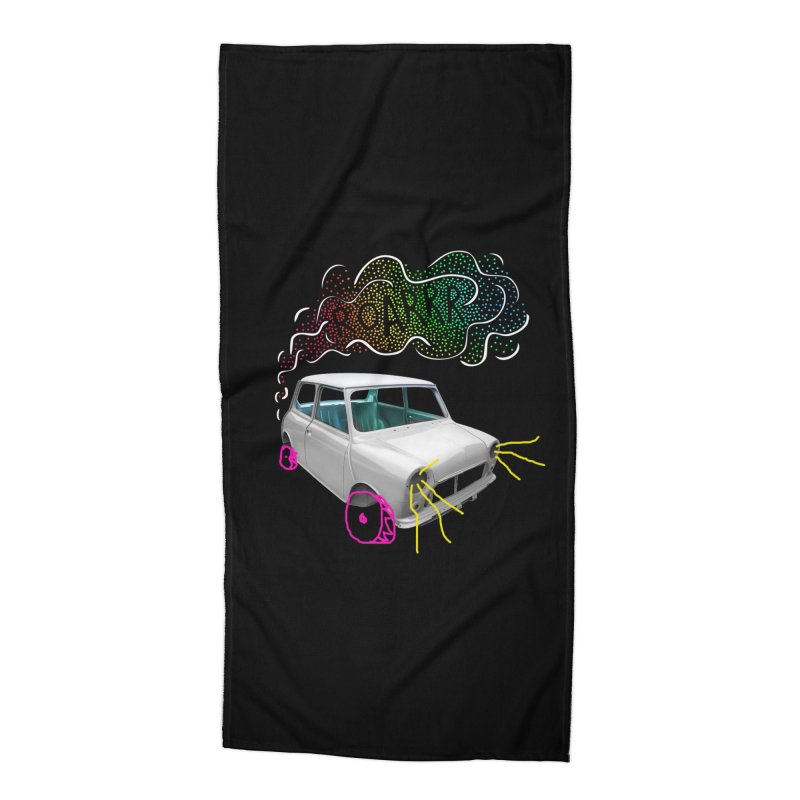 fast and furious Accessories Beach Towel by sustici's Artist Shop