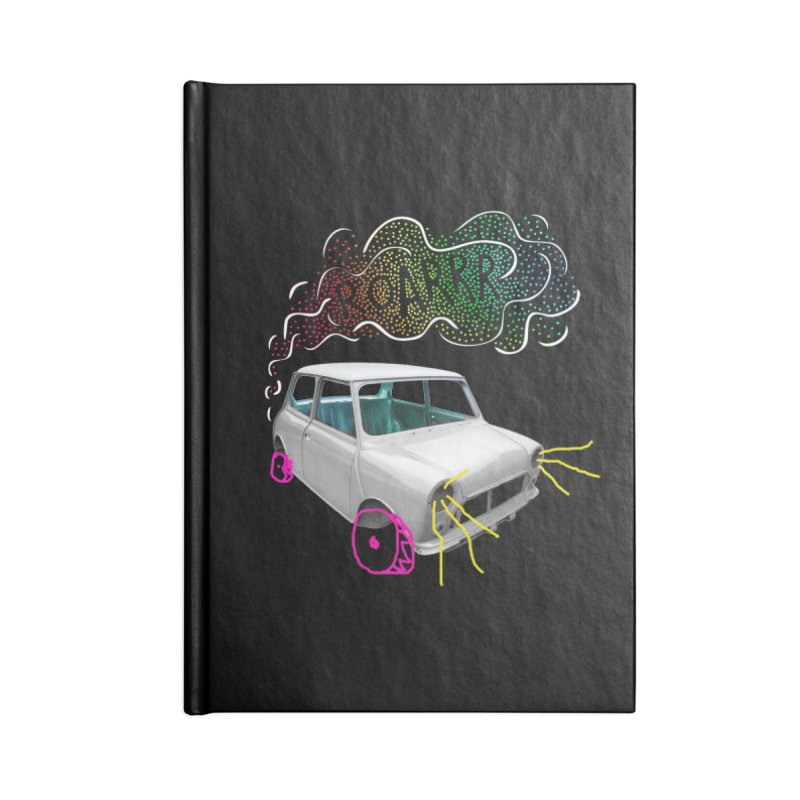 fast and furious Accessories Notebook by sustici's Artist Shop