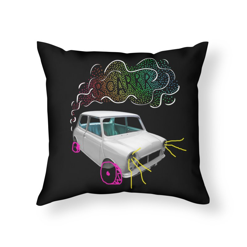 fast and furious Home Throw Pillow by sustici's Artist Shop