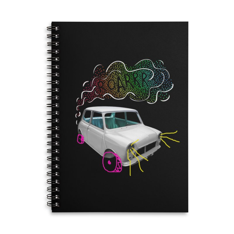 fast and furious Accessories Lined Spiral Notebook by sustici's Artist Shop