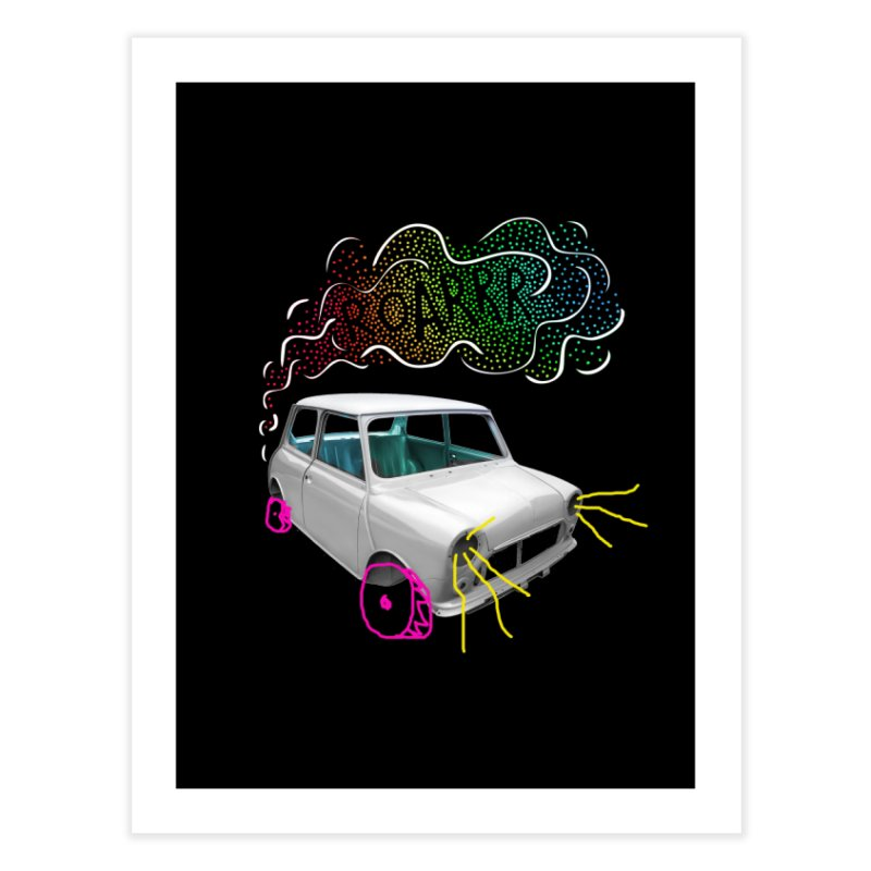 fast and furious Home Fine Art Print by sustici's Artist Shop