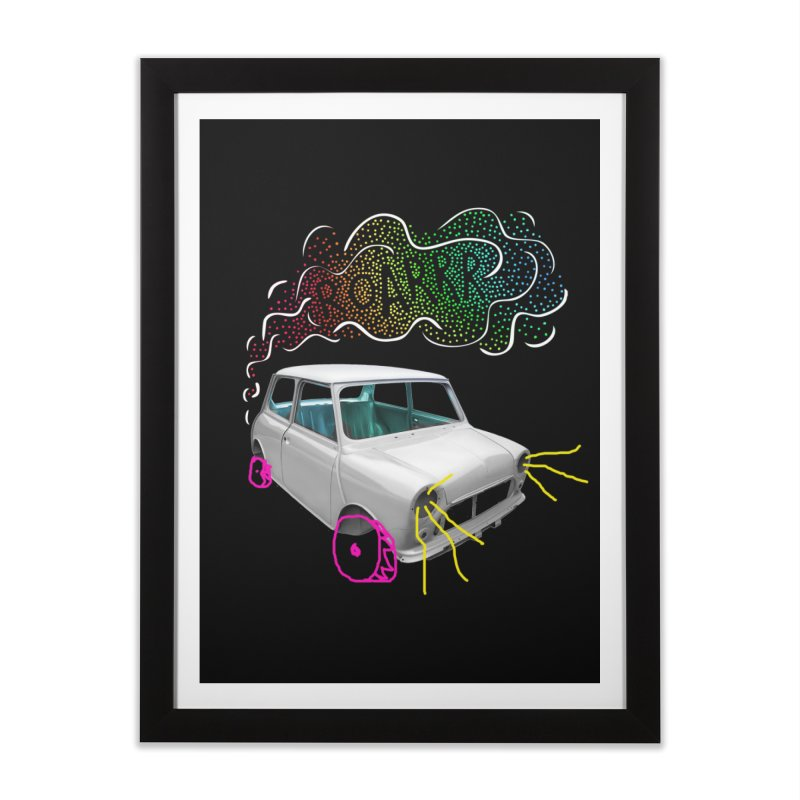 fast and furious Home Framed Fine Art Print by sustici's Artist Shop