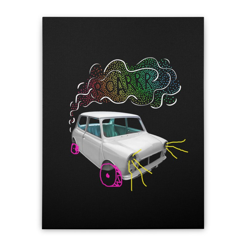 fast and furious Home Stretched Canvas by sustici's Artist Shop