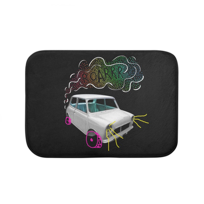 fast and furious Home Bath Mat by sustici's Artist Shop