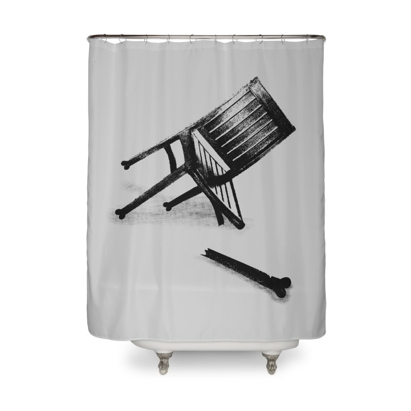 Planned obsolescence Home Shower Curtain by sustici's Artist Shop