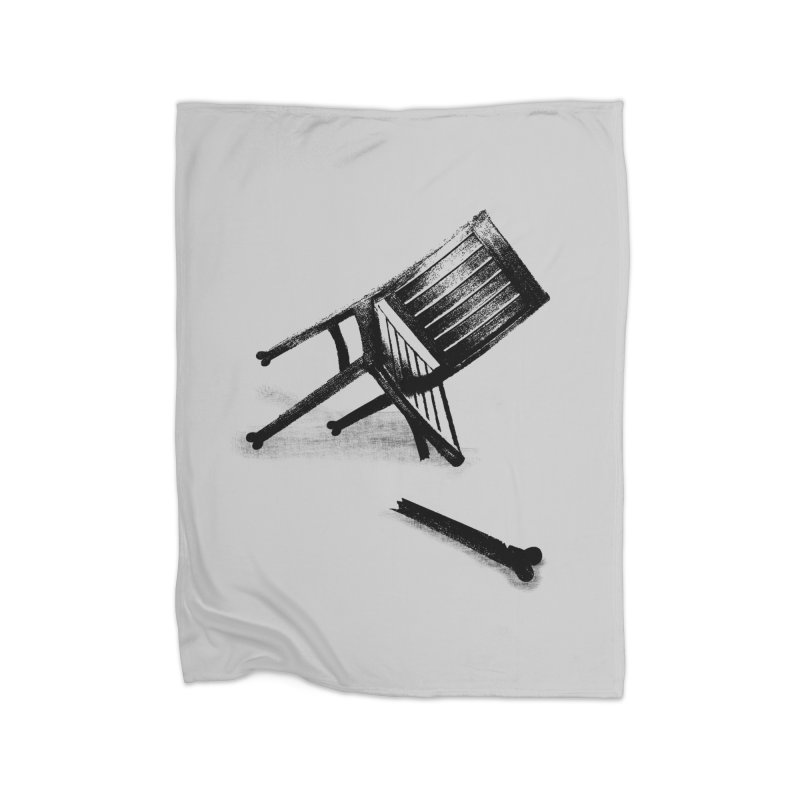 Planned obsolescence Home Fleece Blanket Blanket by sustici's Artist Shop