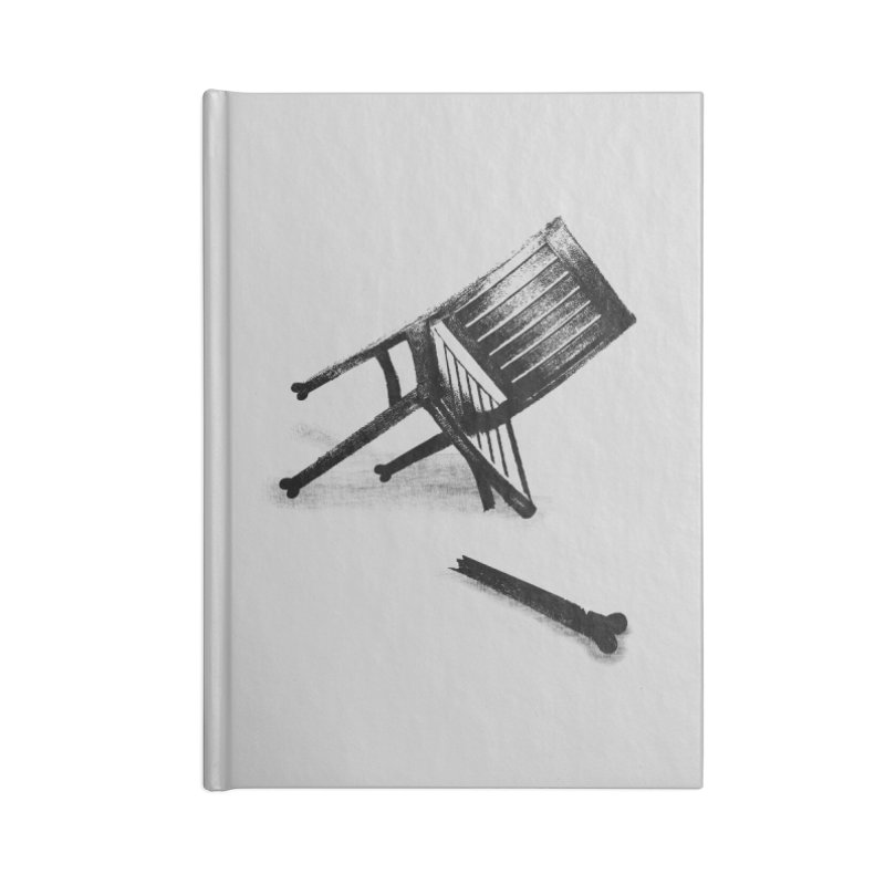 Planned obsolescence Accessories Notebook by sustici's Artist Shop