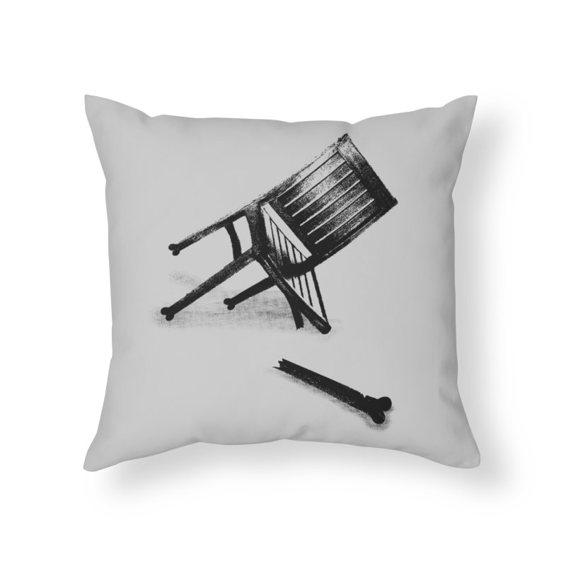 Planned obsolescence Home Throw Pillow by sustici's Artist Shop