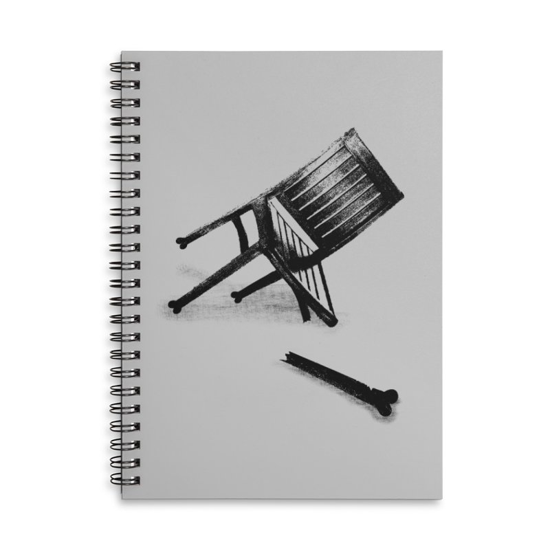 Planned obsolescence Accessories Lined Spiral Notebook by sustici's Artist Shop
