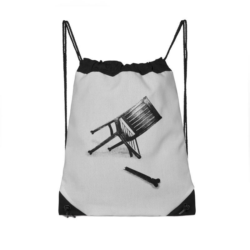 Planned obsolescence Accessories Drawstring Bag Bag by sustici's Artist Shop