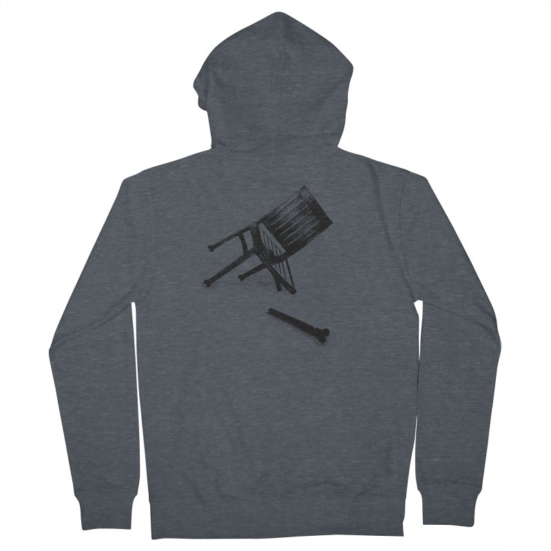 Planned obsolescence Men's French Terry Zip-Up Hoody by sustici's Artist Shop