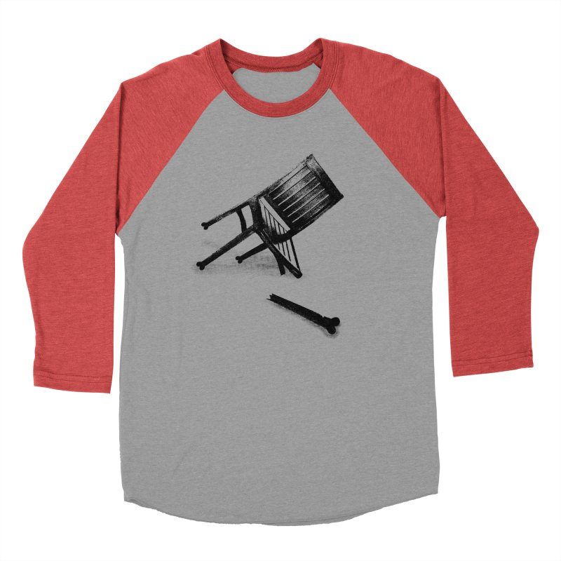 Planned obsolescence Men's Baseball Triblend Longsleeve T-Shirt by sustici's Artist Shop