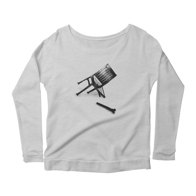 Planned obsolescence Women's Scoop Neck Longsleeve T-Shirt by sustici's Artist Shop