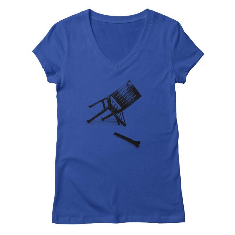 Planned obsolescence Women's V-Neck by sustici's Artist Shop