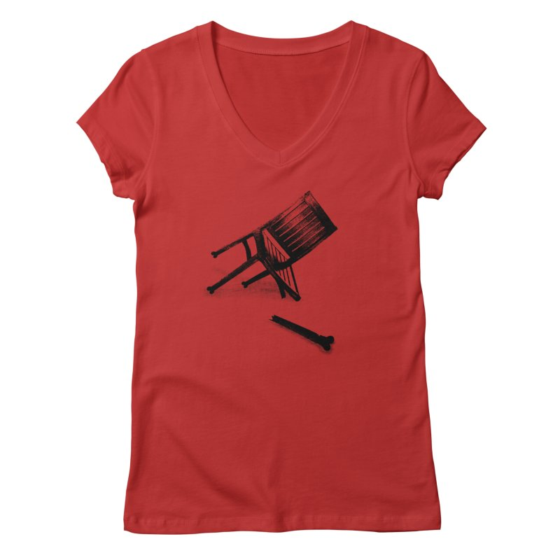 Planned obsolescence Women's V-Neck by sustici's Artist Shop