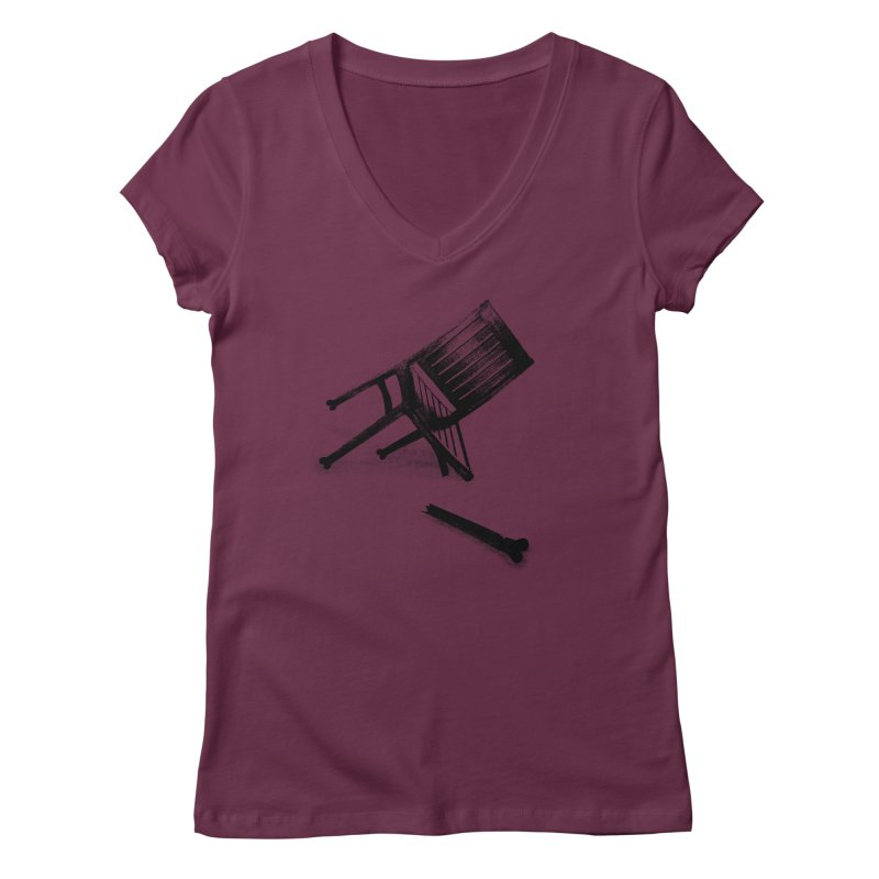 Planned obsolescence Women's Regular V-Neck by sustici's Artist Shop