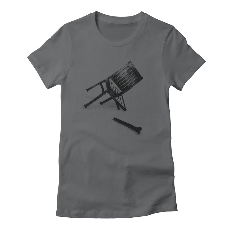 Planned obsolescence Women's Fitted T-Shirt by sustici's Artist Shop