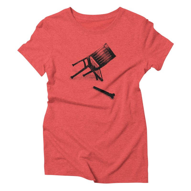Planned obsolescence Women's Triblend T-Shirt by sustici's Artist Shop