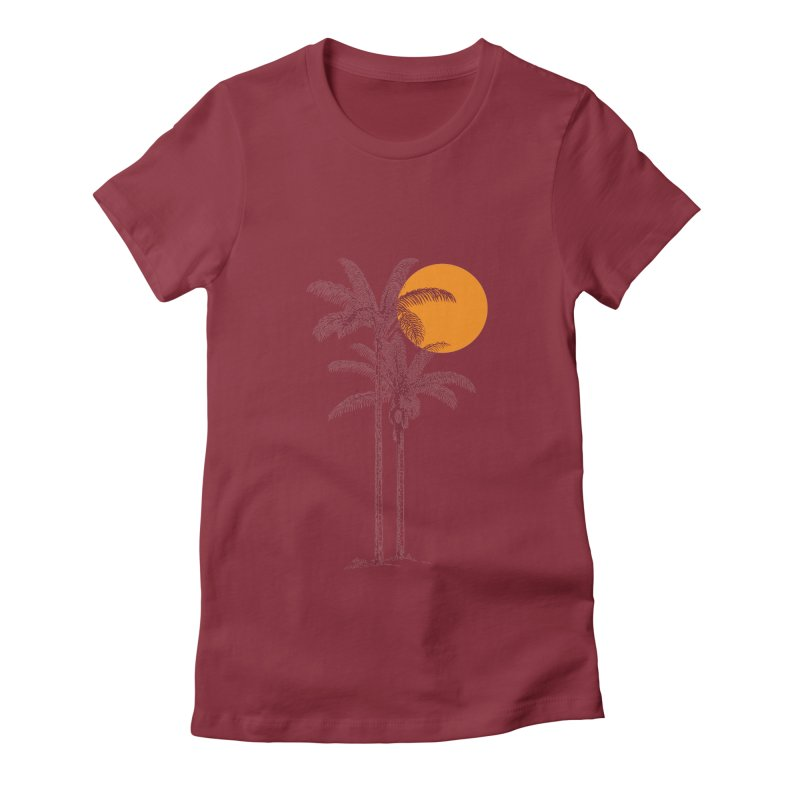 take a nap Women's Fitted T-Shirt by sustici's Artist Shop