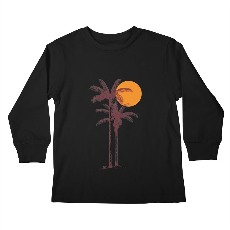 take a nap Kids Longsleeve T-Shirt by sustici's Artist Shop