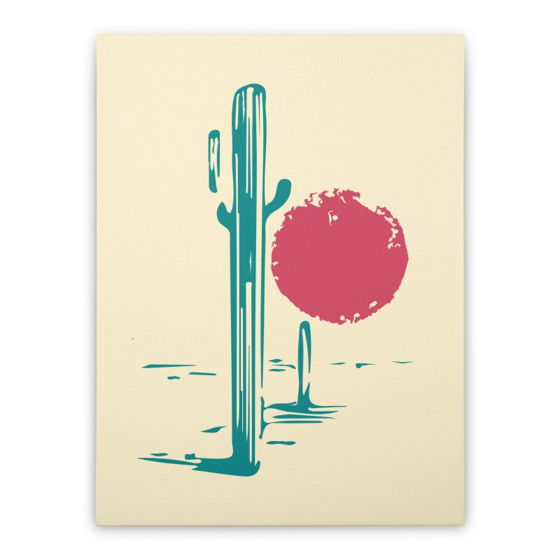 I'm thirsty Home Stretched Canvas by sustici's Artist Shop