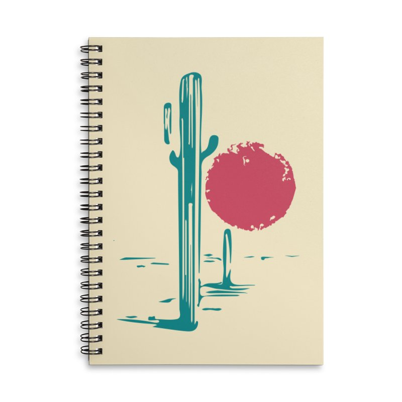 I'm thirsty Accessories Lined Spiral Notebook by sustici's Artist Shop