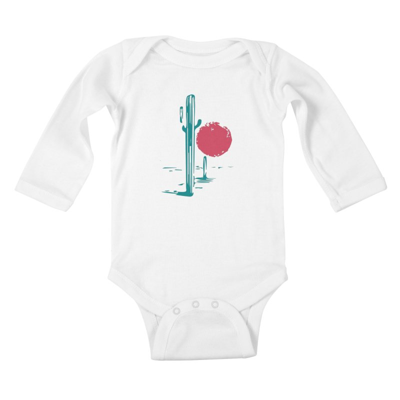 I'm thirsty Kids Baby Longsleeve Bodysuit by sustici's Artist Shop