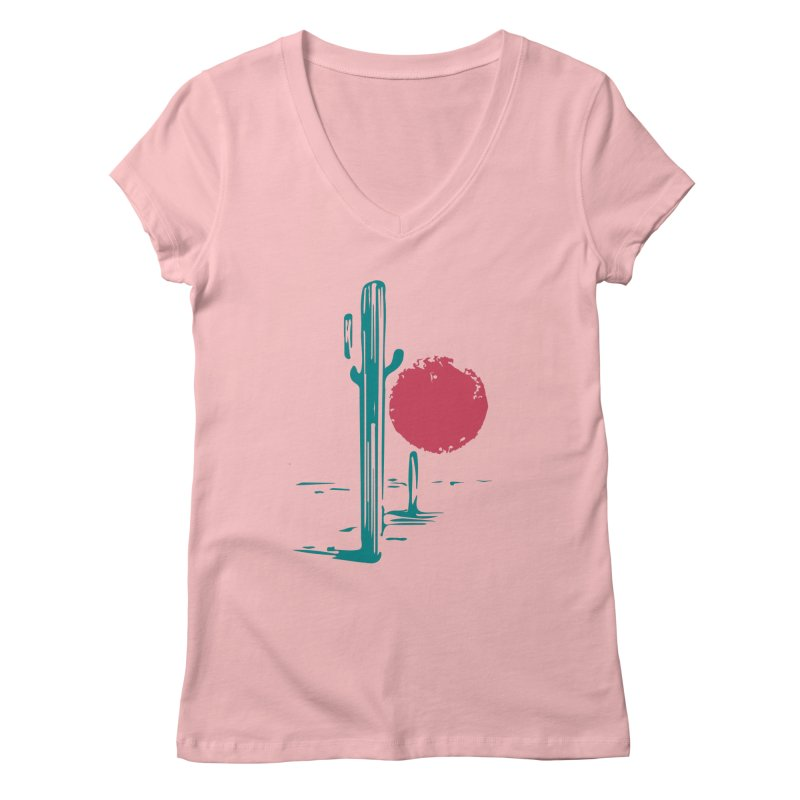 I'm thirsty Women's Regular V-Neck by sustici's Artist Shop