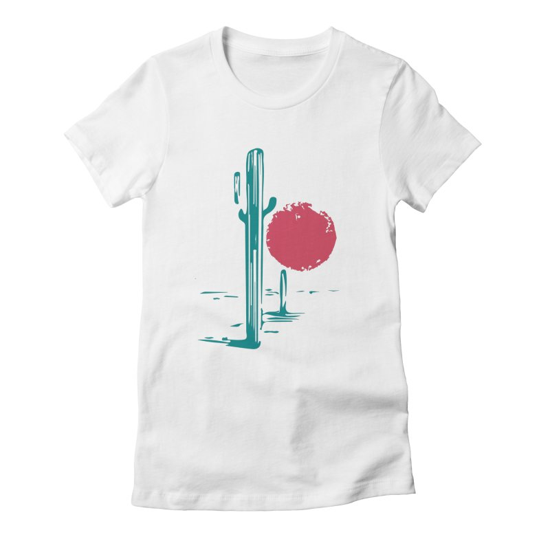 I'm thirsty Women's Fitted T-Shirt by sustici's Artist Shop