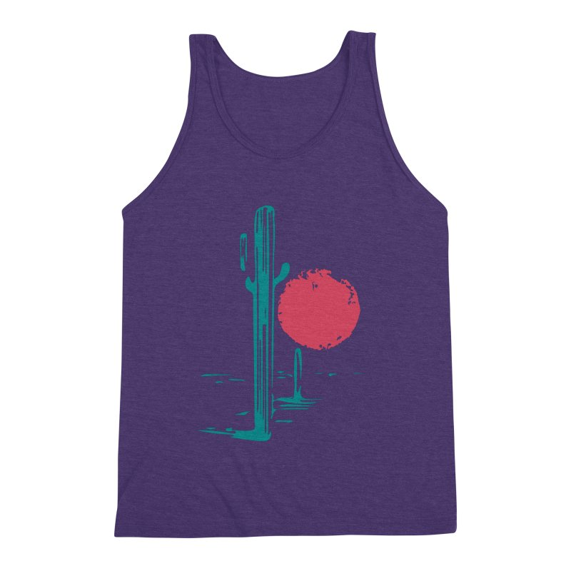 I'm thirsty Men's Triblend Tank by sustici's Artist Shop