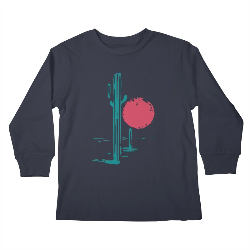 I'm thirsty Kids Longsleeve T-Shirt by sustici's Artist Shop