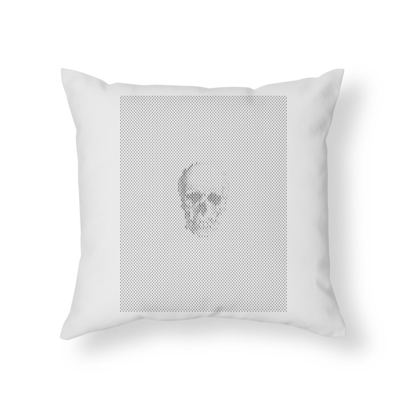 Sku// Home Throw Pillow by sustici's Artist Shop