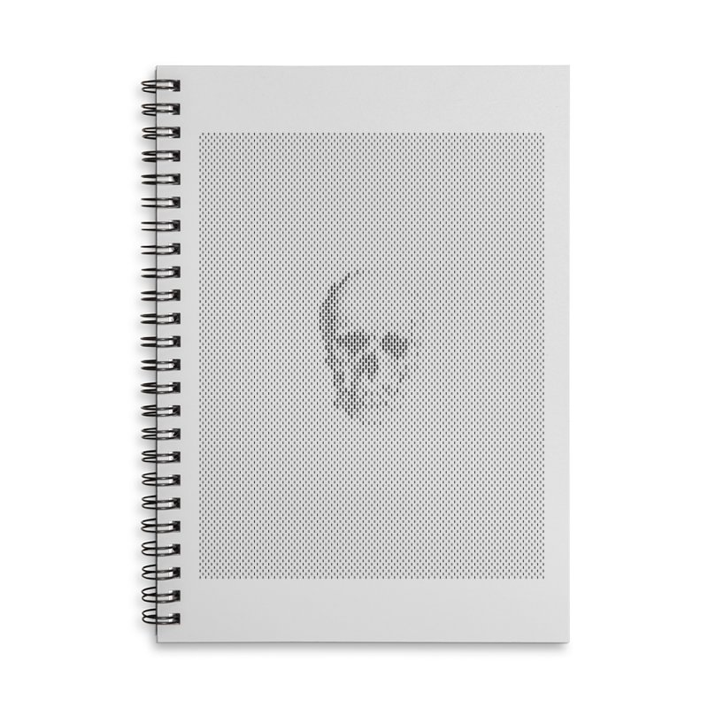 Sku// Accessories Lined Spiral Notebook by sustici's Artist Shop