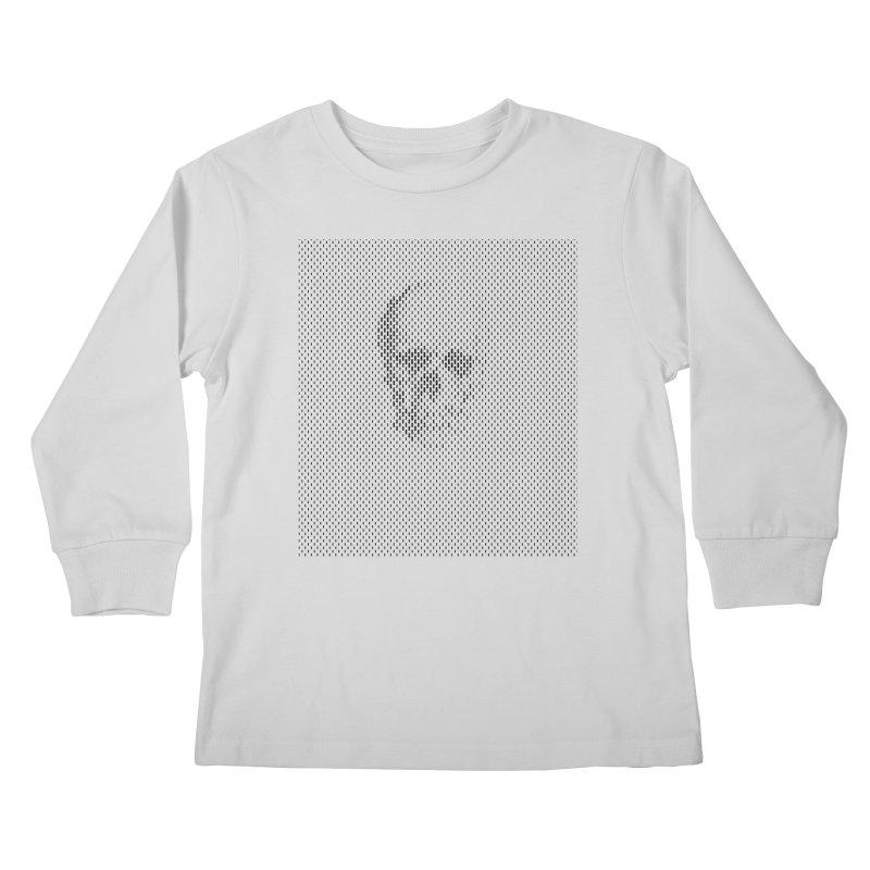 Sku// Kids Longsleeve T-Shirt by sustici's Artist Shop