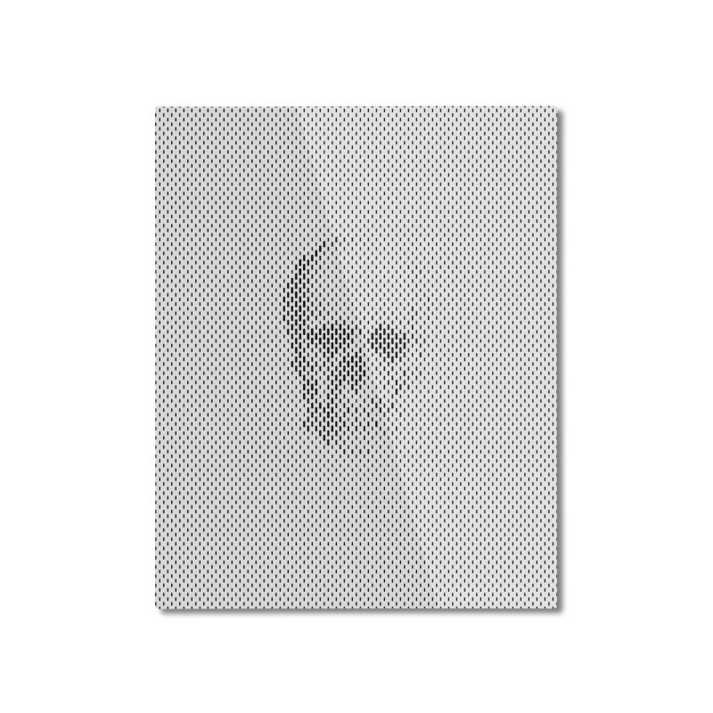 Sku// Home Mounted Aluminum Print by sustici's Artist Shop