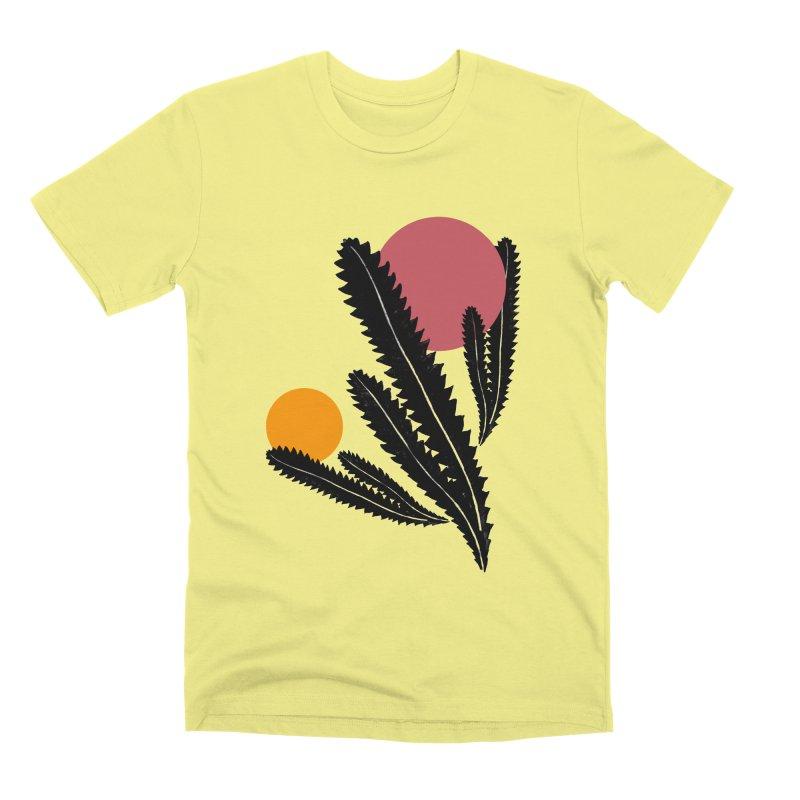 Prickly Plant Men's Premium T-Shirt by sustici's Artist Shop
