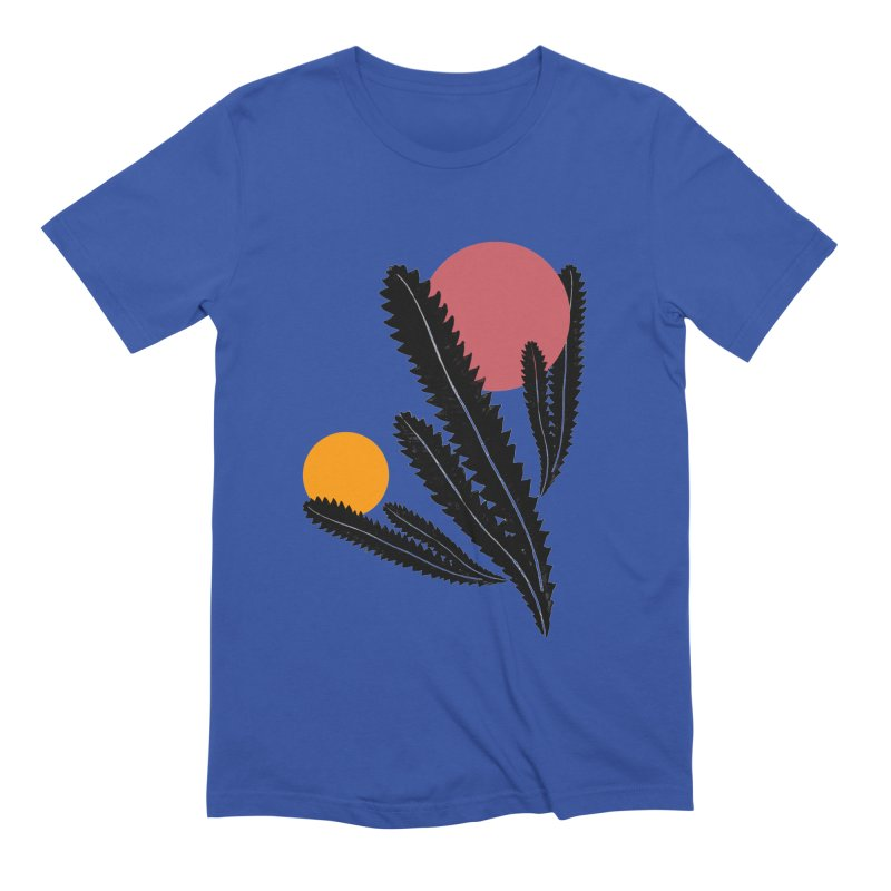 Prickly Plant Men's Extra Soft T-Shirt by sustici's Artist Shop