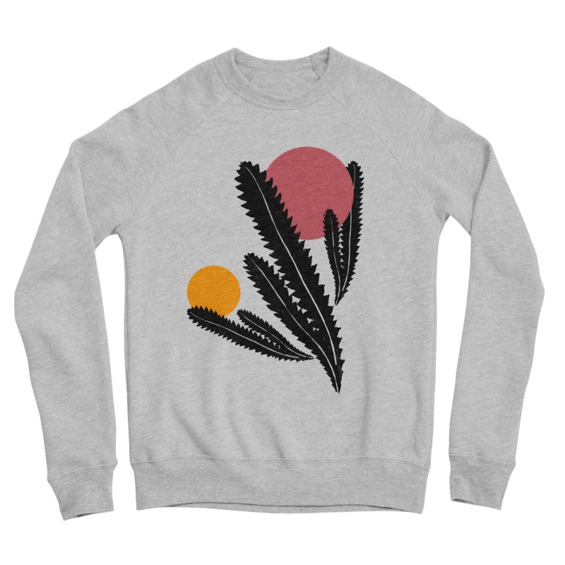 Prickly Plant Men's Sponge Fleece Sweatshirt by sustici's Artist Shop